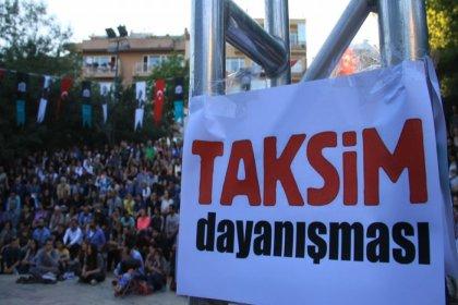 Taksim Dayanışması, birleştirme kararı verilen Gezi davası sürecine ilişkin basın toplantısı düzenliyor
