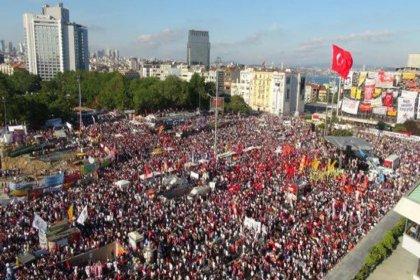 Taksim Dayanışması Gezi direnişinin 8. yılında Taksim'de olacak