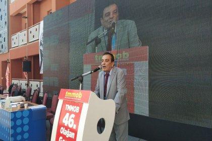 TMMOB Başkanı Koramaz: Siyasi iktidarın TMMOB'u hedef almasının nedeni gerici politikalara karşı laikliğe sımsıkı sarılmamızdır