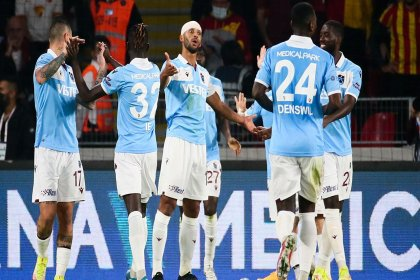 Trabzonspor, Göztepe'yi 1-0 mağlup etti