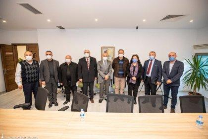 Tunç Soyer, Alevi Bektaşi Federasyonu temsilcileri ile bir araya geldi