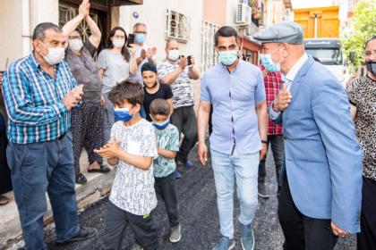 Tunç Soyer: Mahallelerin yaşam konforunu yükseltiyoruz