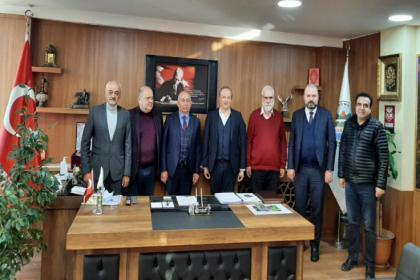 Avcılar Belediye Başkanı Av. Turan Hançerli'den KAS-DER Genel Merkezine ziyaret