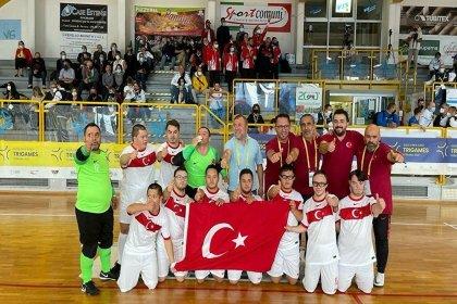 Türkiye Down Sendromlular Futsal Milli Takımı, Avrupa şampiyonu oldu