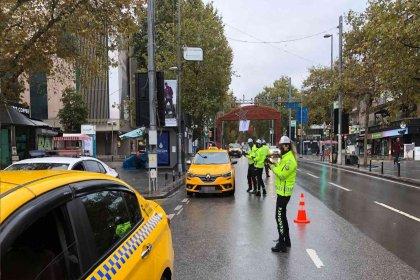 Türkiye genelinde 73 taksi trafikten men edildi