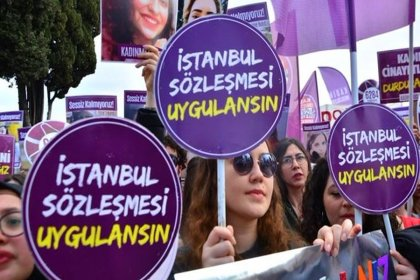 Türkiye Kadın Dernekleri Federasyonu'ndan İstanbul Sözleşmesi'ne ilişkin açıklama: 'Gerici karanlıktan korkmuyoruz'