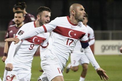 Türkiye, Letonya'yı sahasında 2-1 yendi