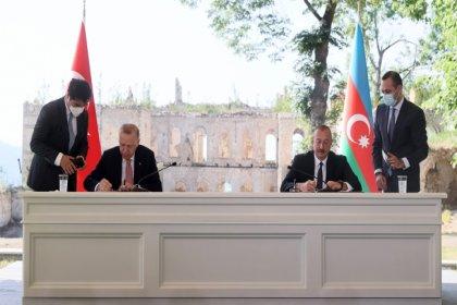 Türkiye ve Azerbaycan arasında 'Şuşa Beyannamesi' imzalandı