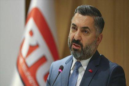 TV'lere 'lebaleb görüntüleri yayınlamayın' talimatı gönderen RTÜK Başkanı Şahin'den açıklama: 'Görevimiz gereği yaptığımız yapıcı hatırlatma'