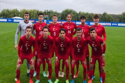 U18 Milli Takımı, İspanya'ya 3-0 mağlup oldu